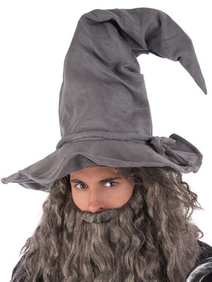 Grey Wizard Hat