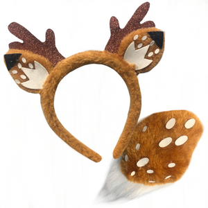 Deer Headband & Tail Set