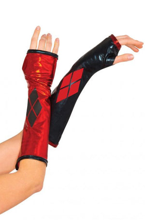 Harley Quinn Gloves Gauntlettes