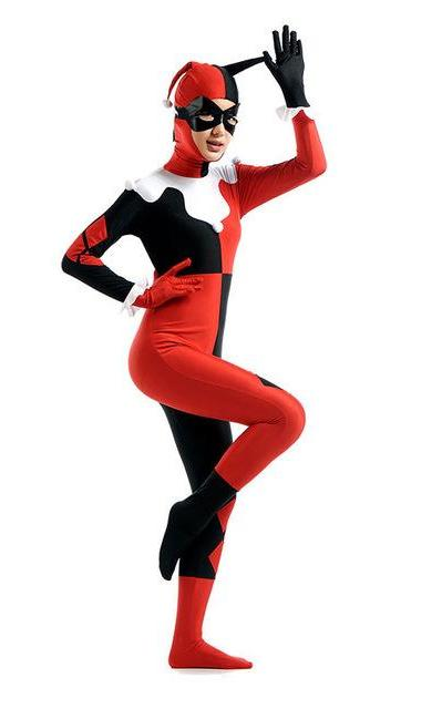 Ladies Harley Quinn Morphsuit