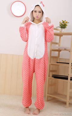 Pink Kitty Onesie