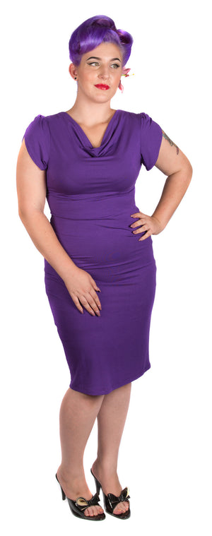 True Purple Wiggle Dress