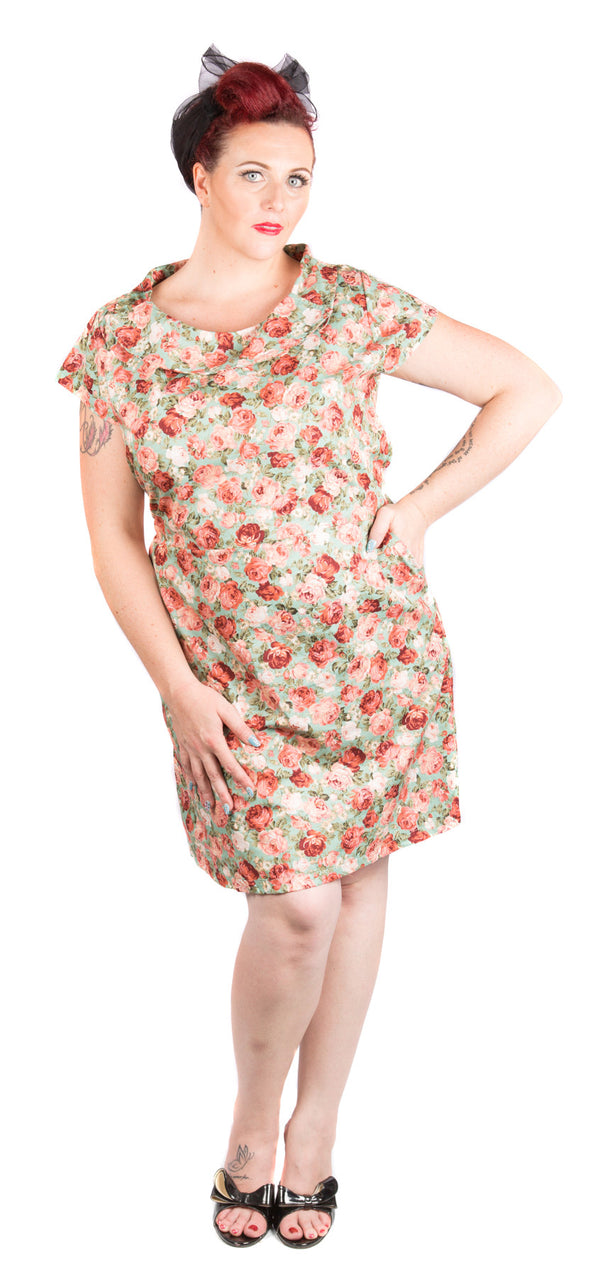 Floral Day Time Dress