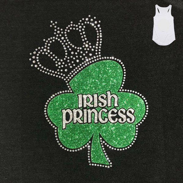 Irish Princess Black Singlet