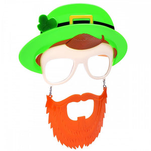 Irish Man Hanging Glasses