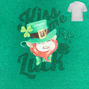 Kiss Me For Luck Saint Patrick's Day T-Shirt