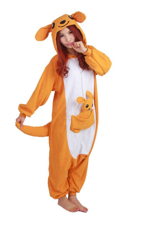 Orange Kangaroo Onesie