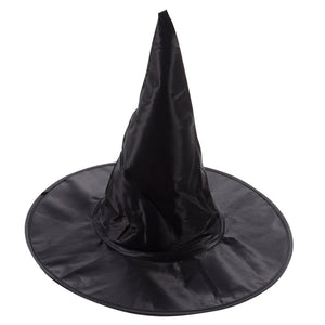 Kid's Black Witches Hat