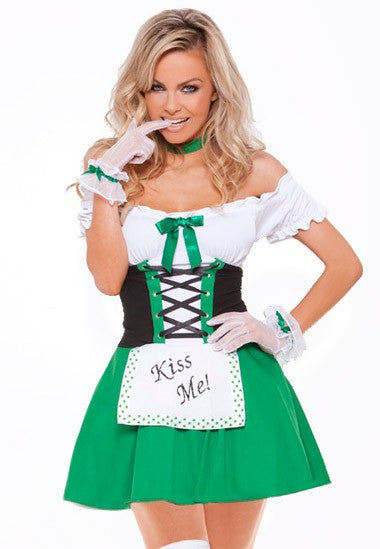 Kiss Me! Saint Patrick's Day Dress
