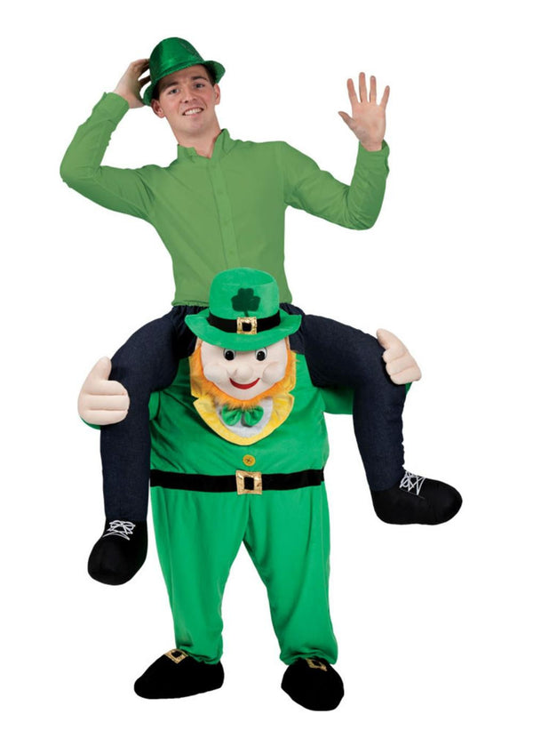 Carry Me: Leprechaun Ride On Costume