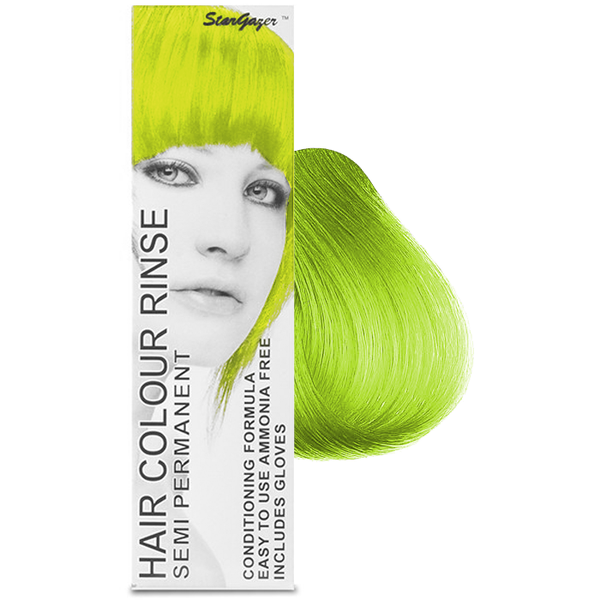 Stargazer - Lime Green Semi Permanent Hair Dye