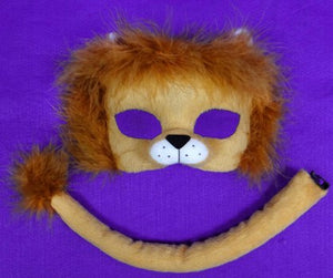 Deluxe Lion Mask and Tail