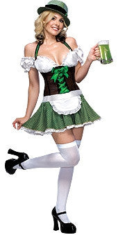 Lucky Charm Barmaid Costume