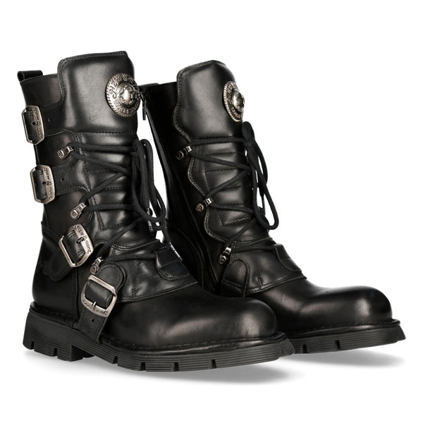 PRE-ORDER 1473-S1 New Rock Leather Boots