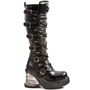 PRE-ORDER M-8272-S1 Knee High Ladies Boots