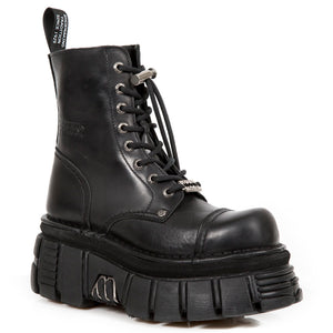 PRE-ORDER New Rock Lace-Up Platform Boots