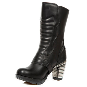 PRE-ORDER M.TR003X-S2 Heeled Leather Boots