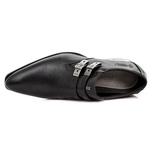 M.2246-S5 New Rock Men's Black Dress Shoes