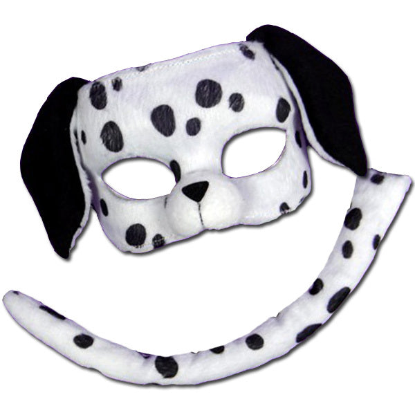 Dalmatian Mask and Tail Set