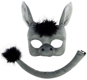 Deluxe Donkey Mask and Tail
