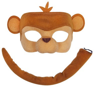 Deluxe Monkey Mask and Tail