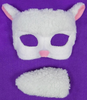 Deluxe Sheep Mask and Tail