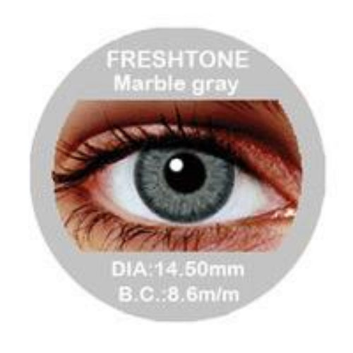Freshtone Marble Grey Contact Lenses