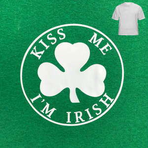 Saint Patrick's Day Kiss Me I'm Irish T-Shirt