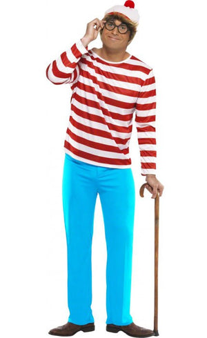 Men's Where's Wally Costume
