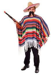 Classic Mexican Poncho