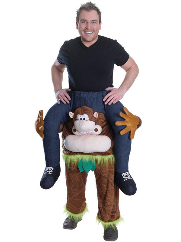 Carry Me: Monkey Ride On Costume