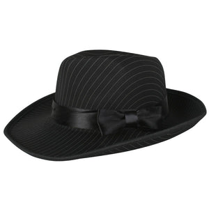 Pin Striped Gangster Hat