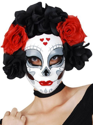 Floral Day of the Dead Mask