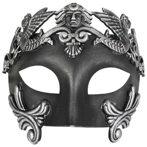 Men's Black Roman Mask