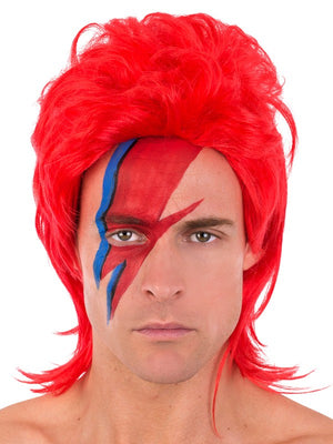 Ziggy Stardust Red Wig