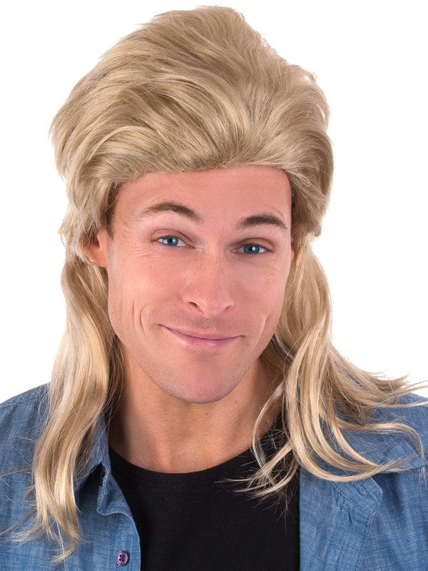 Blonde 80 s Mullet Wig Perth  fe92ce136
