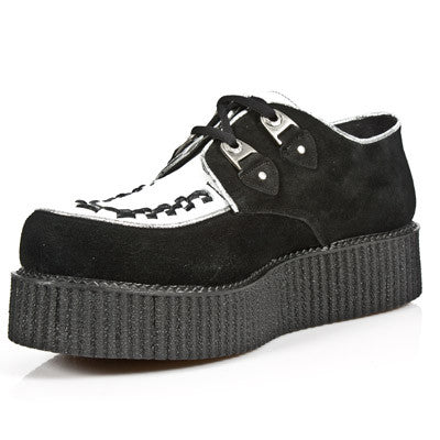 M.2415-R20 New Rock Black & White Creepers