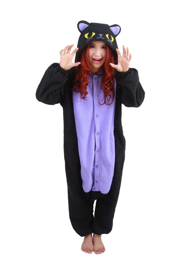 Purple Cat Onesie