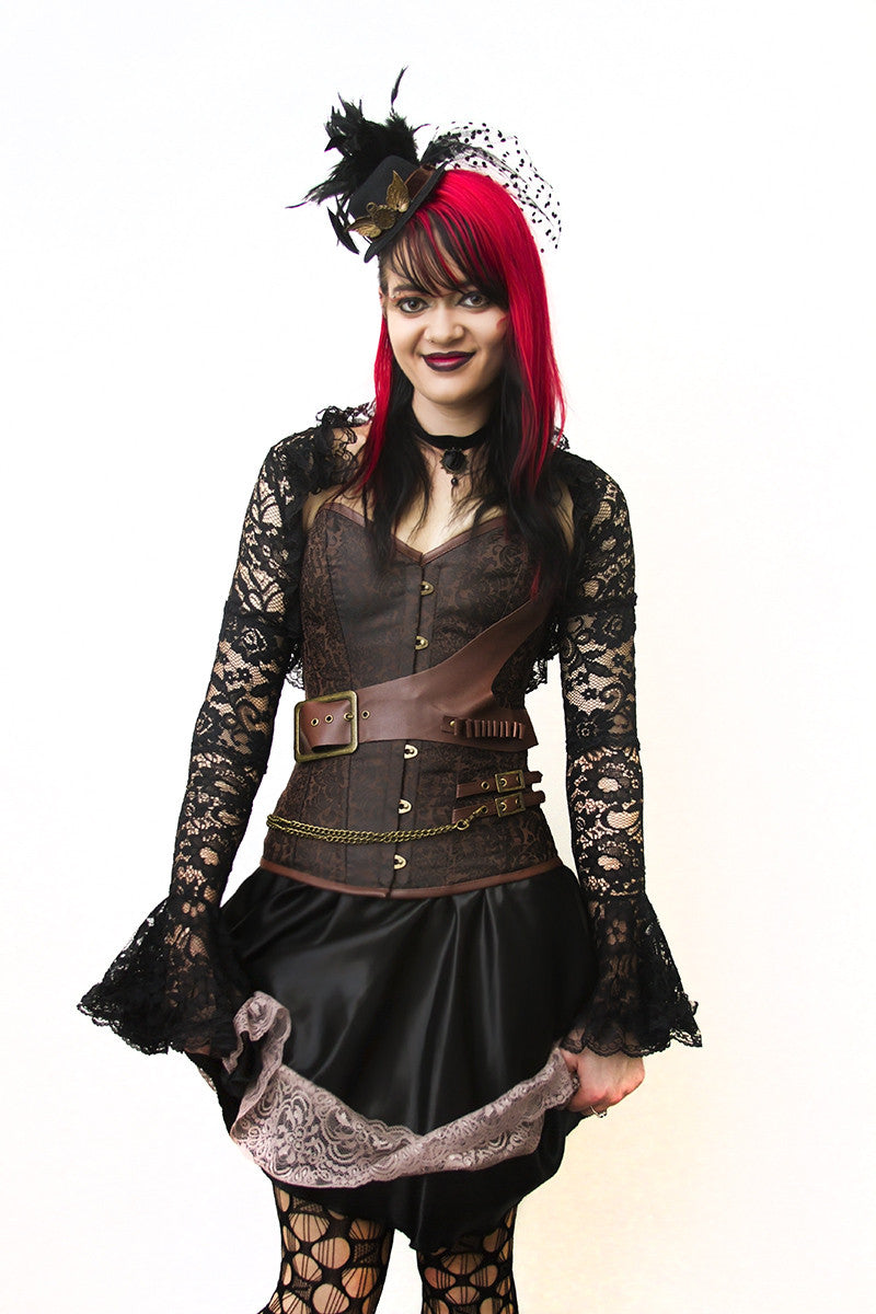 overbust and underbust corsets perth | hurly burly