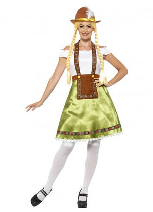 Green Ladies Oktoberfest Dirndl