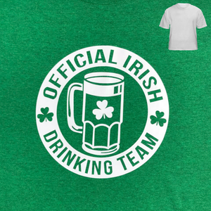 Official Irish Drinking Team Green T-Shirt