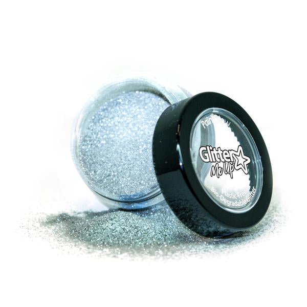 Bio Degradable Glitter - Snowdrop Silver