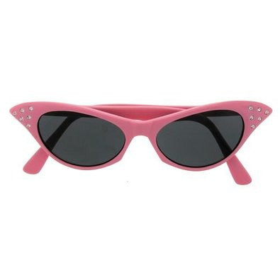 Pink 1950's Cat Eye Glasses