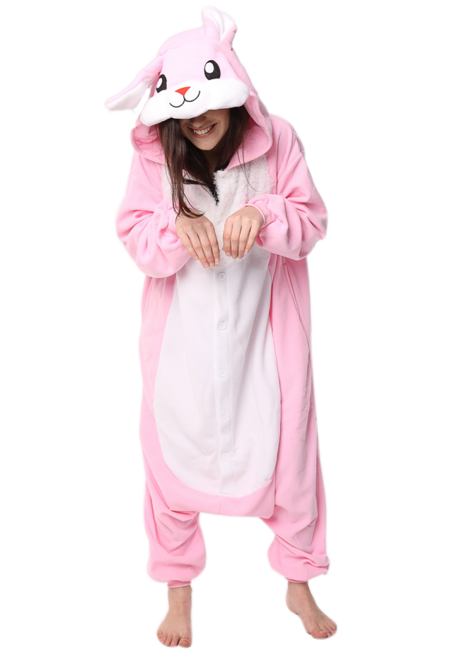 4b88ca463e1f Pink Rabbit Onesie Perth
