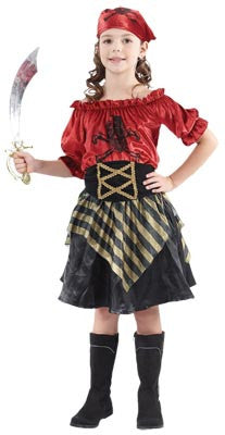 Pirate Beauty Girls Costume