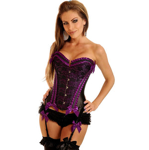 Burlesque Purple Corset