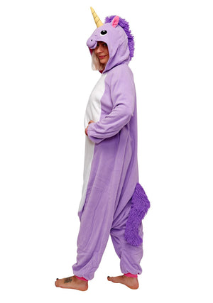 Full Purple Unicorn Onesie
