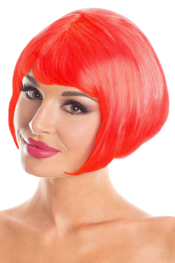 Red Bob Party Wig