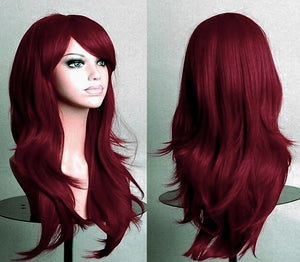 Red Deluxe Wig