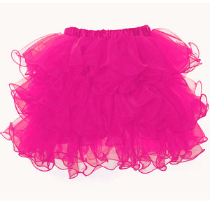 Hot Pink Scalloped Tutu